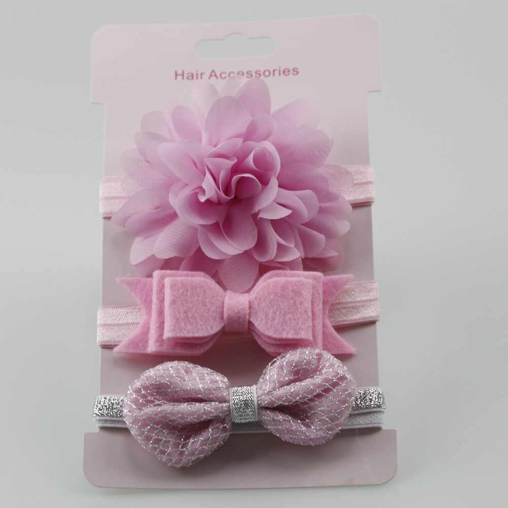 3 шт.; эластичная повязка на голову с цветами для малышей; повязка на голову с бантом для девочек; повязка на голову для малышей; комплект аксессуаров для детей; реквизит для фотосессии