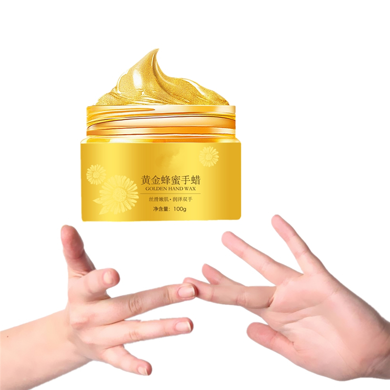 Deep Moisturizing Hand Mask Paraffin Wax Exfoliating Mask For Hand Care Soften Calluses Whitening Gloves Hand Cream 100g