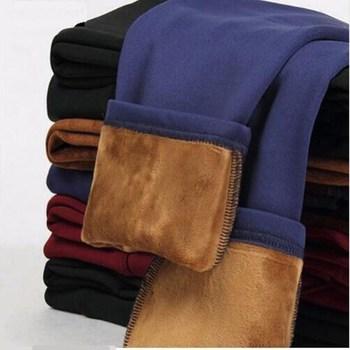 WKOUD S-4XL Leggings casuales para mujer invierno mallas aterciopeladas y gruesas de abrigo pantalones de cintura alta mujeres nieve caliente leggings Bootcuts P8668
