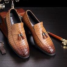 08047bcae Borla mocassins sapatos oxford para homens sapatos de marcas famosas dos  homens sapatas de vestido dos