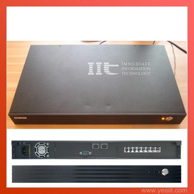 IIT IPX3000-8  1U rack 8FXO VOIP PBX Elastix system, TDM410P asterisk card included