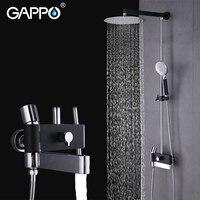 GAPPO Bathroom Shower Faucet Bathroom Shower Tap Rainfall Shower Set Bathroom Mixer Waterfall Faucet Showers Bathtub Faucet