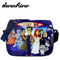 Doctor Who Children Canvas Police Box Messenger Bag For Boy Girl Cartoon School Satchel Bag