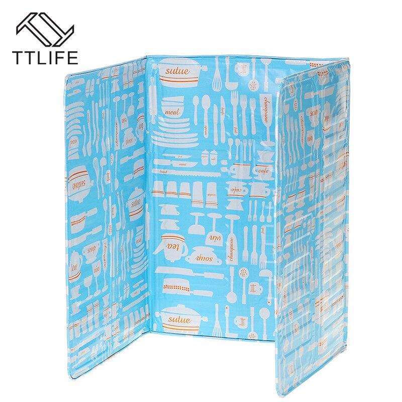TTLIFE 83*39 см Масло для кухни Ширма из алюминиевой фольги изоляционная доска газовая плита Маслосборник экраны газовая плита перегородка