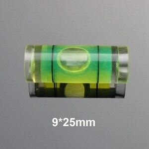 Image 1 - (100 adet/grup) QASE Çapı 9mm Plastik Mini su terazisi su seviyesi göstergesi seviye ölçüm aleti