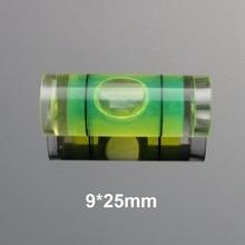 (100 unids/lote) QASE diámetro 9mm plástico Mini nivel de burbuja nivel de agua indicador nivel instrumento de medición