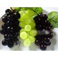 NEW Lifelike Green/Black Artificial Grapes Plastic Fruit Food Home Wedding Decoration FREE SHIPPING