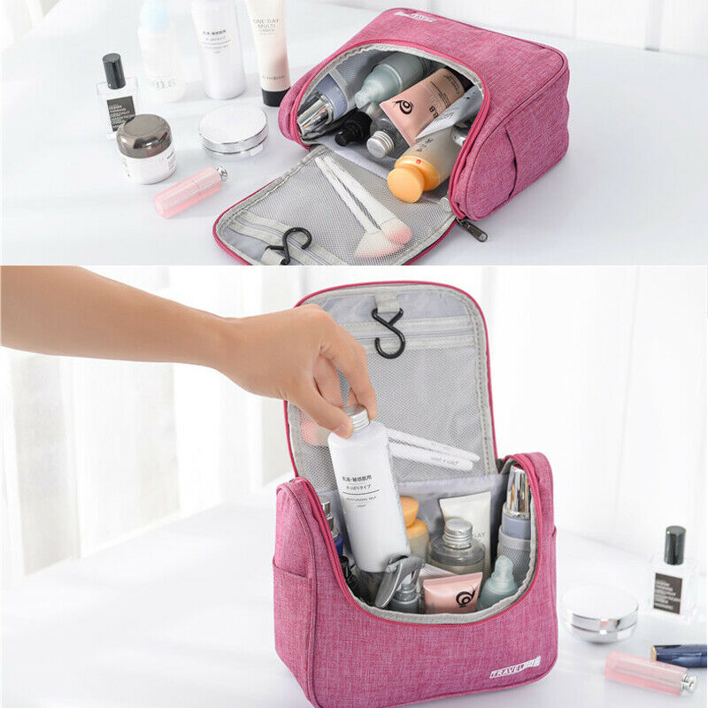 2019 Newest hot Waterproof  Multifunction Travel Cosmetic Bag Makeup Purse Wash Bag Pouch Toiletry Organizer(China)