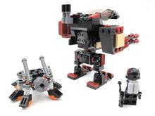 GUDI Models Building toy Compatible with Lego G8209 194pcs Robot Blocks Toys Hobbies For Boys Girls Model Building Kits