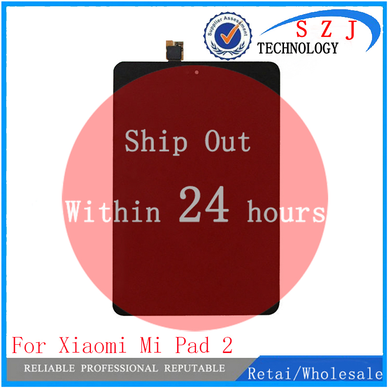 New 7.9 inch tablet pc For Xiaomi Mi Pad 2 Mipad 2 MIUI LCD Display + Touch Screen Digitizer Glass FullAssembly Replacement new 9 6 inch tablet pc lcd display bg096bl 1288ii81ia jyh lcd screen digitizer sensor replacement