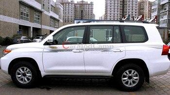 Rails De Toit | Barres De Rails De Toit En Métal + Plastique Noir Pour Toyota Land Cruiser 200 LC200 2008-2016 Accessoires De Voiture