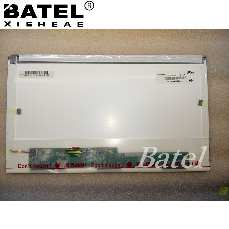 N156BGE-L11 Rev C1 Matte 1366*768 15.6 HD 40Pin Laptop Screen LCD Matrix 04W0430 la40a550p1r high pressure plate i400h1 20 c a001b screen v400h1 l03 rev c1