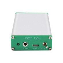 AIYIMA Mini Amplificador de auriculares PCM2706, decodificador de Audio HIFI, DAC, tarjeta de sonido USB, TDA1305DAC, Amplificador de auriculares, bricolaje