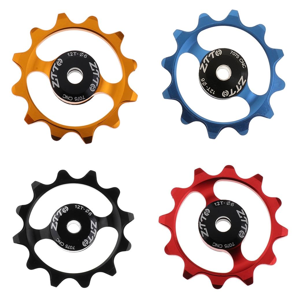 1pc Bicycle Rear Derailleur Pulley Jockey Wheel Road Bike Guide Roller I2