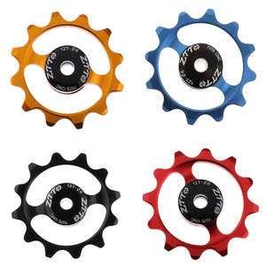 Ceramic Bike Jockey Wheel Pulley Wheel Bicycle Rear Derailleur Guide Pulley 12 T Support 9/10/11 Speed Cycling Bike Parts