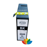 1 Pack COMPATIBLE CANON PGI 2500 pgi2500 Black ink cartridge for canon MAXIFY iB4050 MB 5050 5350 Printer