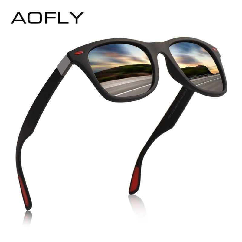 a311604b0add AOFLY BRAND DESIGN Classic Polarized Sunglasses Men Women Driving Square  Frame Sun Glasses Male Goggle UV400