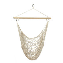 Outdoor Hammock Chair Hanging Chairs Swing Cotton Rope Net Swing Cradles Kids Adults Outdoor Indoor(China)