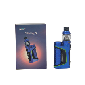 Image 4 - Original iStick Pico S with ELLO VATE 6.5ML Kit Tank 100W iStick Pico S Box MOD with HW M HW N Coil Electronic Cigarette Vape