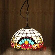 ТИФФАНИ мода лампы кулон спальня подвесной светильник dd12017