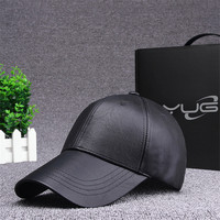 YUG printemps été nouvelle tendance En Cuir Dames De Mode Voyage baseball chapeau mâle casquette à visière chapeau De Haute qualité