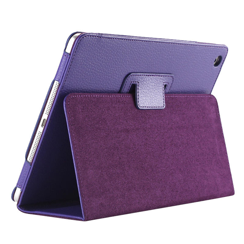 Business Flip Litchi Leather Case Smart Stand Holder For Apple Pad2 3 4 Magnetic Auto Wake Up Sleep Cover Purple business flip litchi leather case smart stand holder for apple ipad2 3 4 magnetic auto wake up sleep cover black