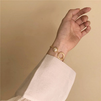 JLBN1252 Chaoxian Natural Pearl Shellfish Hand made French Retro style Bracelet Women's Style