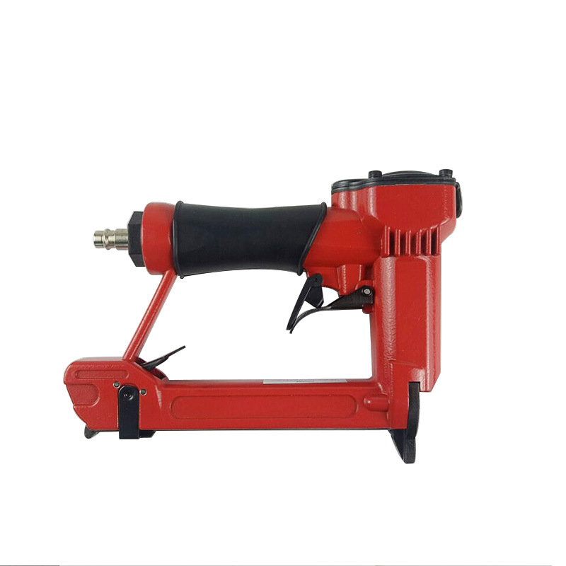 High quality pneumatic nail gun 80 16 woodworking tools staple upholstery stapler for furniture framing 2019NEW