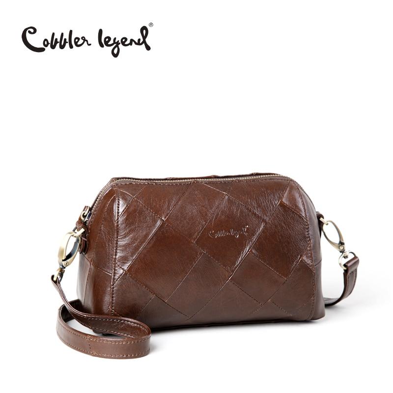 Cobbler Legend 2019 New Fashion Genuine Leather Women's Shoulder Bag For Girls Crossbody Bags For Female Handbag 0900303-A-1