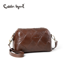 Cobbler Legend 2017 New Fashion Genuine Leather Womens Shoulder Bag For Girls Crossbody Bags Female Handbag 0900303-A-1