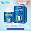 80ml Smile with confidence White descaling Prevent tartar Pure and fresh breath Strong teeth Tooth powder