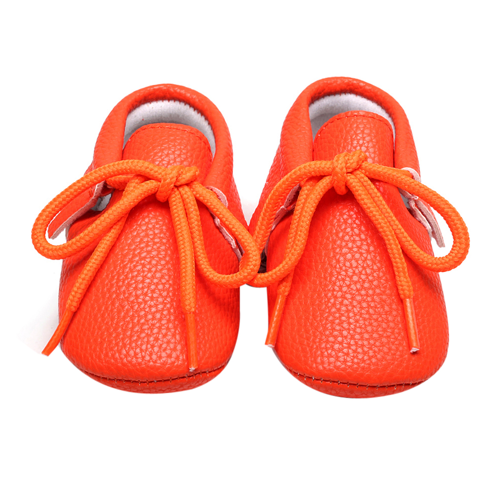 3 Colors Baby High ShoesBaby School Shoes Kid Casual Soft Soled Lace-up Solid Color Girls Boy All Season Shoes