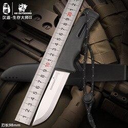 HX na zewnątrz Survival knife armii HD2 nóż na zewnątrz narzędzia wysokiej twardości małe proste noże podstawowym narzędziem do samoobrony ulubione