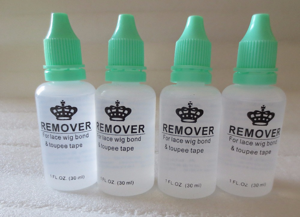 20 bottles Wholesale 1 Oz 30ml lace wig glue remover Professional remover for lace wig and toupee tape 1 4 oz walker safe grip adhesive lace wig glue toupee glue
