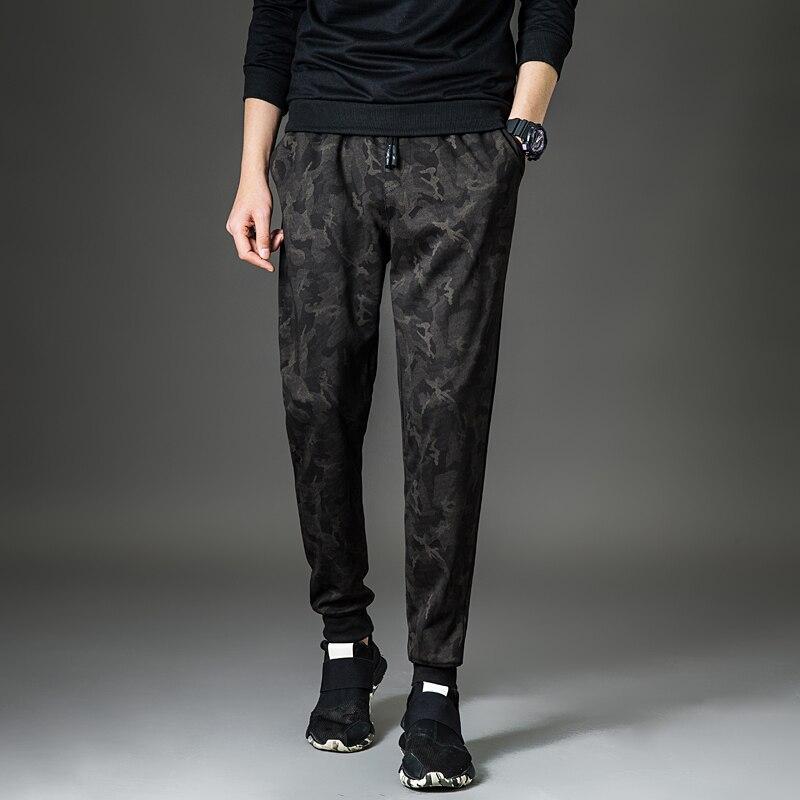 Harem Pants Cargo-Trousers Camo Joggers Loose Spring Pencil Comfortable Men