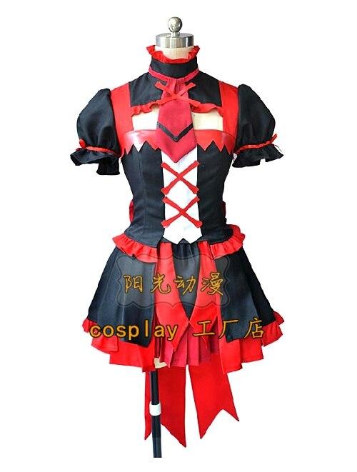 Gate Jieitai Kanochi Nite Rory Mercury Cosplay Costumes Girls Lolita Dress Set For Halloween custom any size