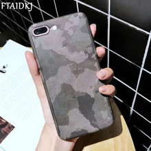 360 Degree Full Body Protection Green Camo Camouflage Leopard PC Hard Case For iPhone 6 6S 7 8 Plus XS Max X XR 10 SE 5 5S Capa