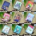 Estudante Bolsa de Moedas de Curto Anime Conan/Totoro/Miku/Gintama/Naruto/One Piece Zero etc Em Relevo mudança Carteira com Botão Magnético