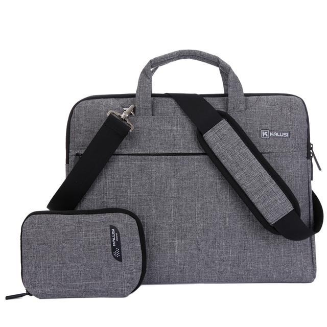 """Bolsa para laptop Nova Chegada kaLuSi Marca bolsa À Prova de água 11 """"13"""" 15 """"17"""" Notebook Computador Maleta Unisex Saco Do Mensageiro Do Ombro"""
