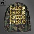 Aelfric Eden Women Pablo Jacket Kanye Camouflage Pablo Mens Jacket Yeezy Jackets Army Cargo Men High Quality Streetwear Coats