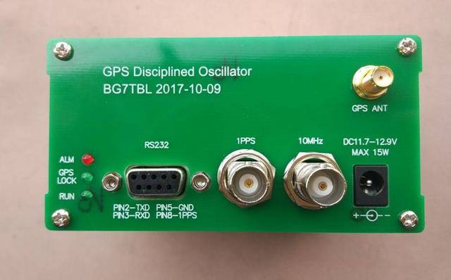 US $199 99  GPSDO 10MSI, GPS clock, GPS tame the clock, 10M 10MHz is better  than the atomic clock-in GPS Accessories from Automobiles & Motorcycles on