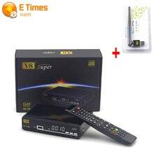V8 Súper Receptor de Satélite Apoyo Cccam Newcam DVB-S2 IPTV Full 1080 P Apoyo Powervu Biss Clave No Soporte IKS SKS V8 receptor