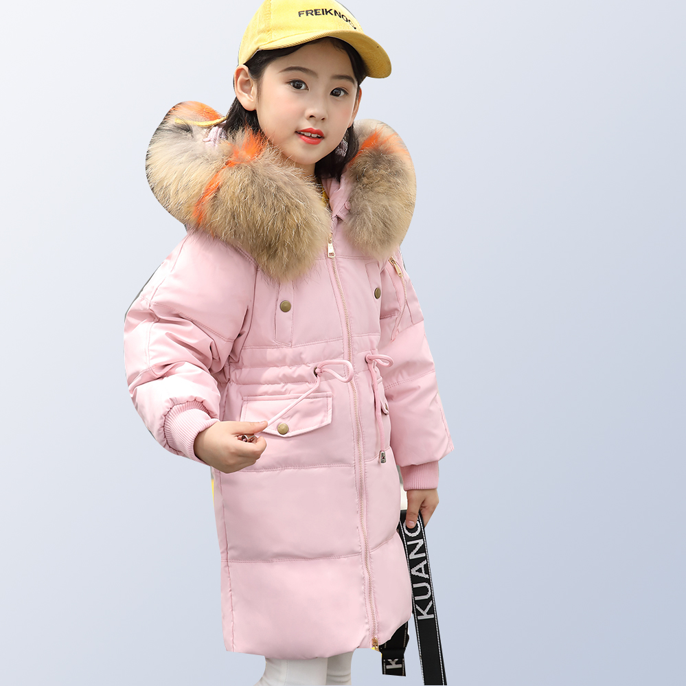 2018 Children Cold Winter Thick Warm Down Jackets Boys Girls Kids Down Jacket Girls Winter Coats for 6 8 10 12 14 years old цены