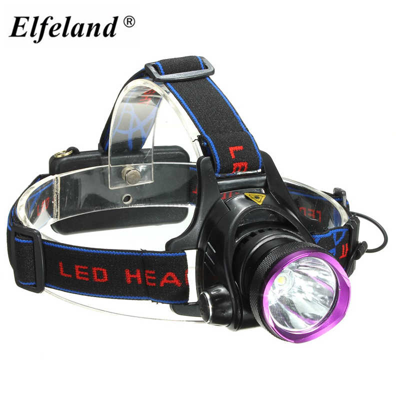 ปรับ 3 โหมด 3000 lumens แบบชาร์จไฟได้ T6 LED ไฟหน้าจักรยานจักรยานไฟหน้า 18650 ไฟหน้าแสงสำหรับตั้งแคมป์เดินป่า