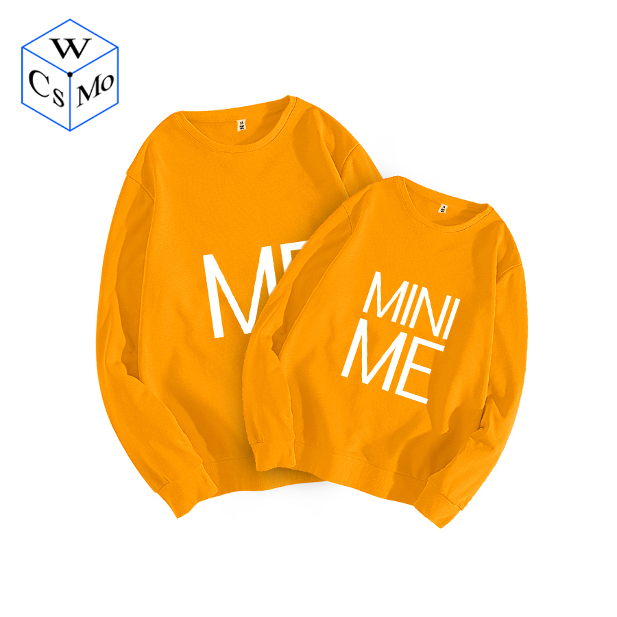 Household Matching Garments Me&mini Me Sweatshirts Father&son Matching Outfits Matching Clothes Daddy And Me Outerwears Tops