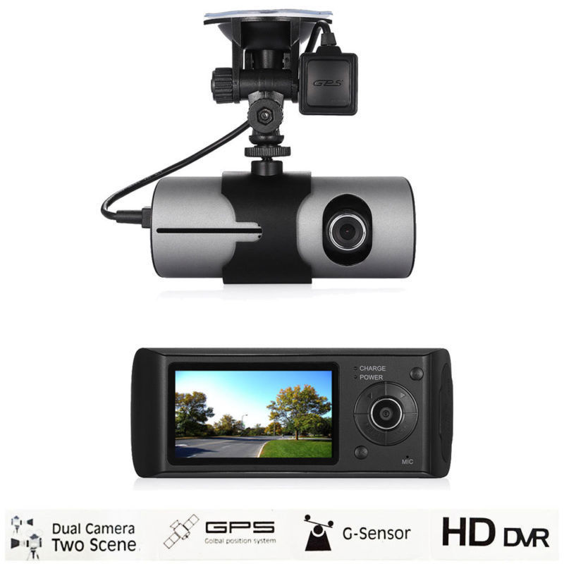 R300 1080P HD Car DVR Camera Dual Lens GPS Camera Dash Cam Rear View Video Recorder DashCam PK xiaomi 70mai Car DVRs|DVR/Dash Camera| - AliExpress