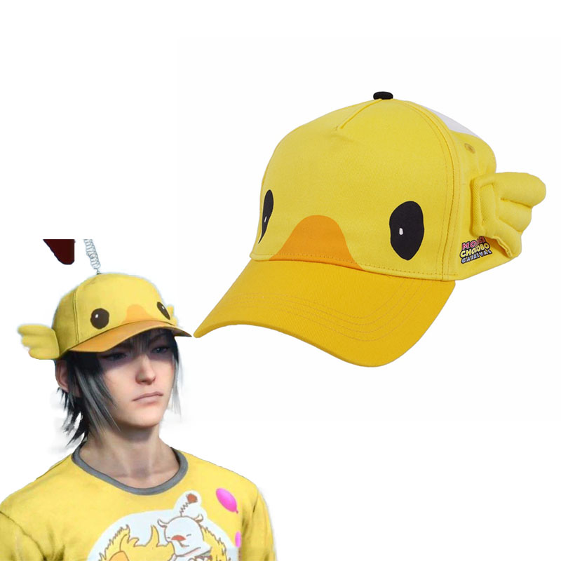 Hot Game Final Fantasy XV Noctis Lucis Caelum Cosplay Hat FF15 Moogle Chocobo Cap