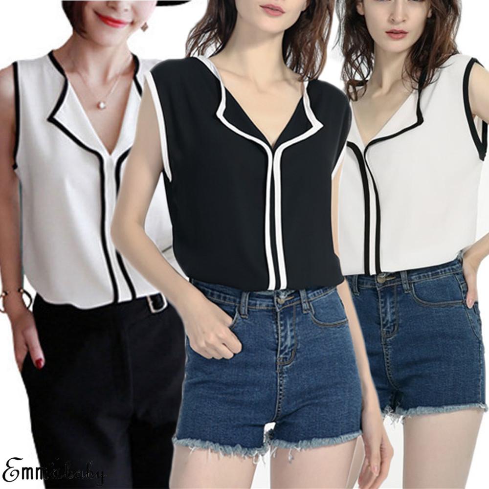 Women Blouses 2019 Fashion Long Sleeve Turn Down Collar Office Shirt Chiffon Blouse Shirt Casual Tops Plus Size Blusas Femininas 4