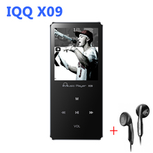Aluminum Alloy usb MP3 Player With Built-in Speaker hifi speaker mp 3 player with radio fm hi-fi mp 4 Player 8gb IQQ X09 walkman