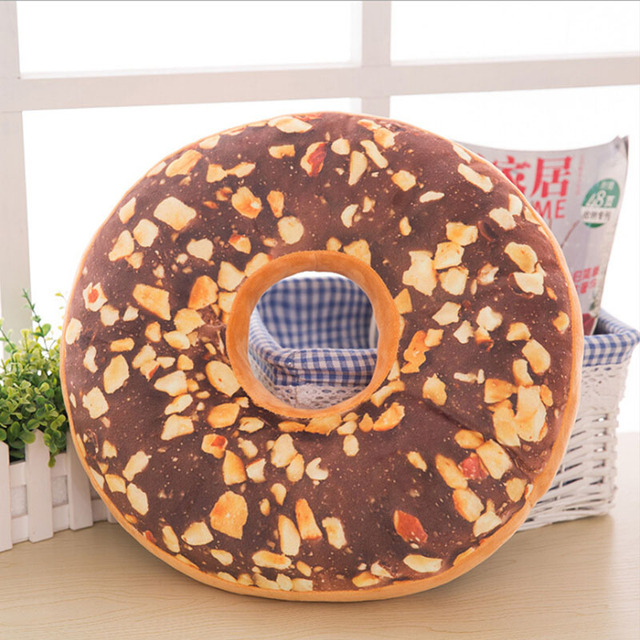 Donut Plush Pillow